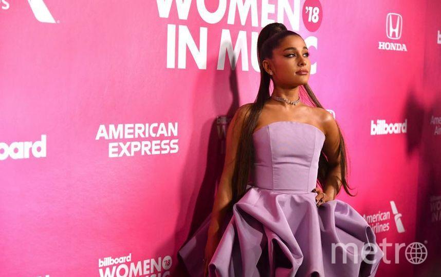 Вечеринка Billboard's Women in Music. Ариана Грандэ. Фото Getty