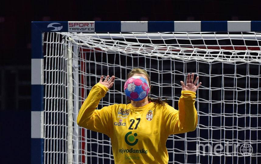 Фото с матча чемпионата Европы. Фото AFP