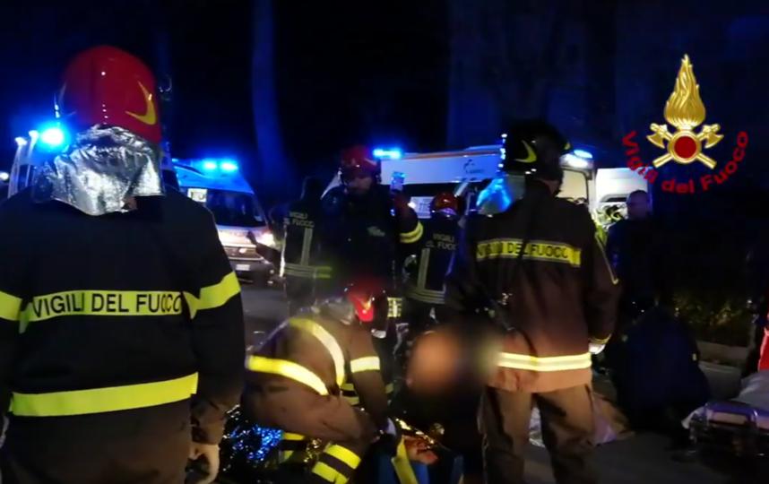 Фрагменты сюжета о происшествии. Фото Скриншот Youtube