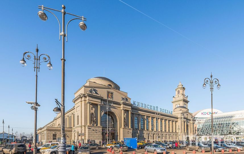 Киевский вокзал. Фото Sachkv - собственная работа, CC BY-SA 4.0, https://commons.wikimedia.org