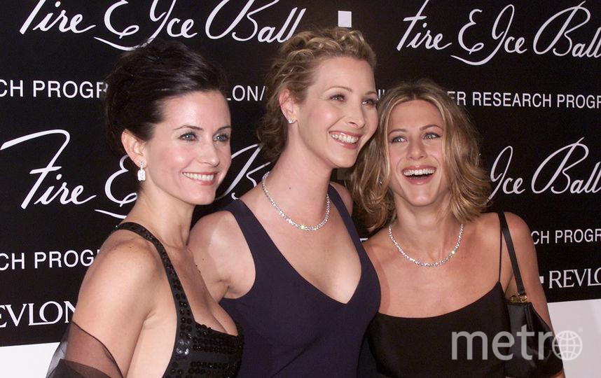 Дженнифер Энистон, Кортни Кокс и Лиза Кудроу в молодости. Фото Getty