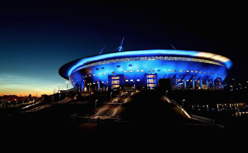 """""""Новая точка на карте"""": стадион """"Санкт-Петербург"""" получил новое название. Фото Getty"""