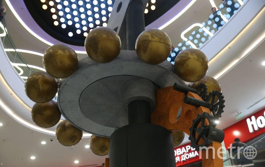 На 3-м этаже открываются шары, и куклы приходят в движение всего на 6 минут. Фото Василий Кузьмичёнок
