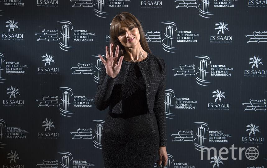 Дакота Джонсон.Моника Беллуччи. Фото AFP