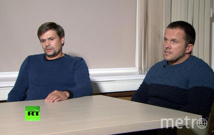 Александр Петров и Руслан Боширов. Фото РИА Новости