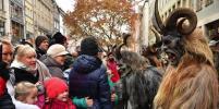 Кошмар перед Рождеством: Жуткие чудища вышли на улицы Мюнхена (фото)