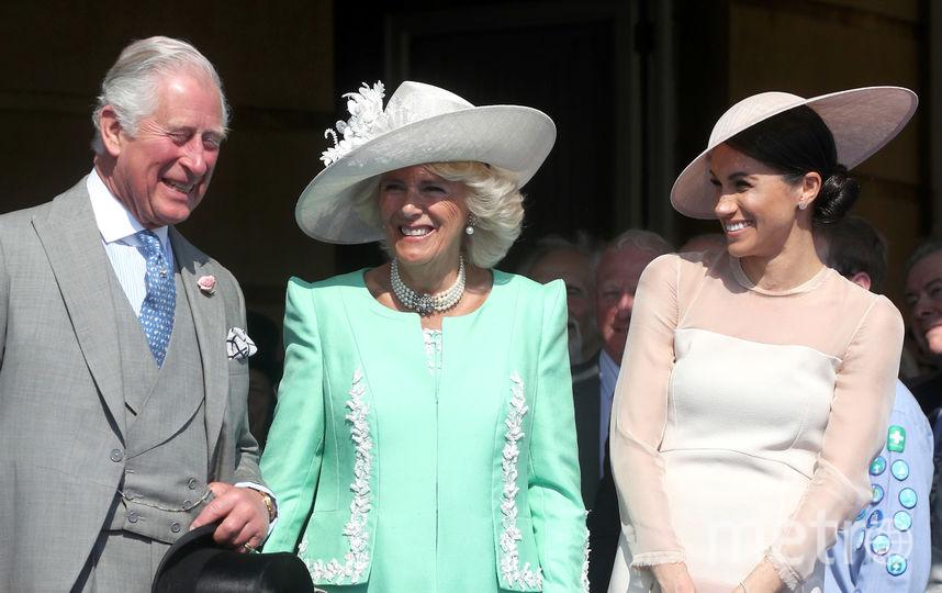 Меган Маркл, принц Чарльз и Камилла Паркер-Боулз. Фото Getty