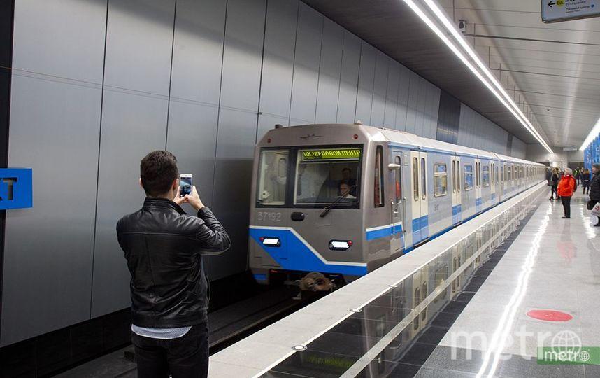 Московский метрополитен. Фото Василий Кузьмичёнок