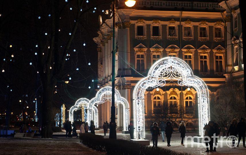 """Новогодний Петербург. Фото Анна Лутченкова, """"Metro"""""""