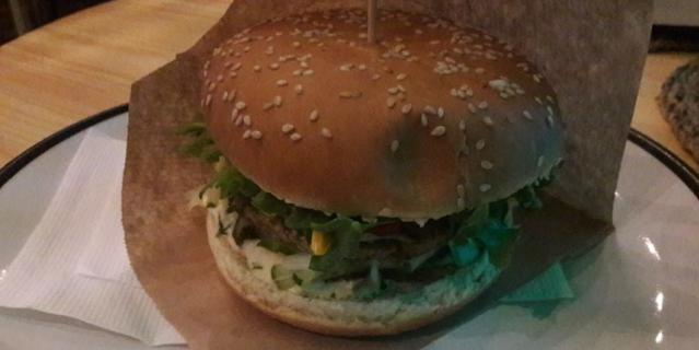 ZEN Vegan Burger.