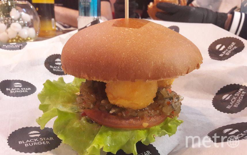 "Black Star Burger. Фото ""Metro"""