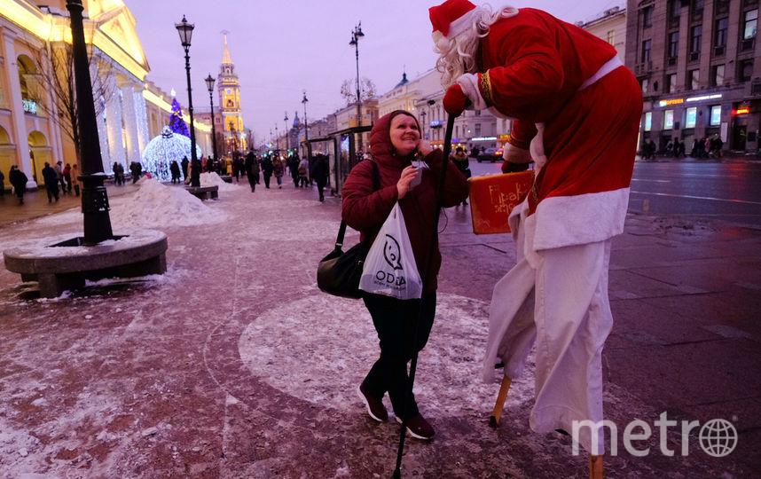 """На новогоднюю ярмарку в Петербург приедет Дед Мороз. Фото Святослав Акимов., """"Metro"""""""