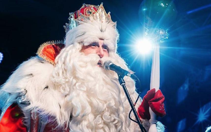 Дед Мороз. Фото Скриншот Instagram: pimenov.roman