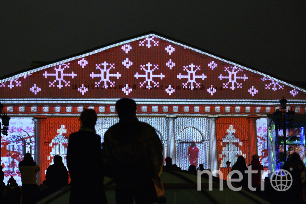 Световые шоу пройдут с 14 по 20 декабря. Фото РИА Новости