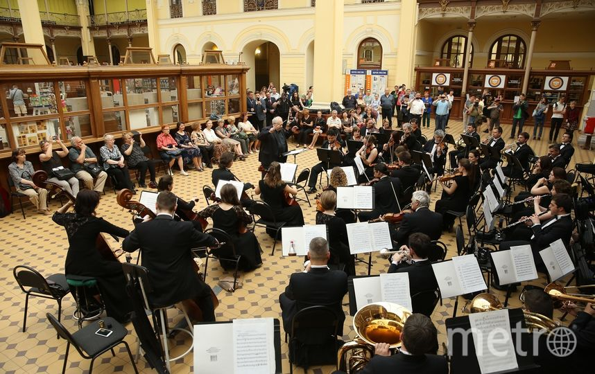 "Концерт в здании Главпочтамта прошел в мае. Фото https://www.gov.spb.ru/, ""Metro"""