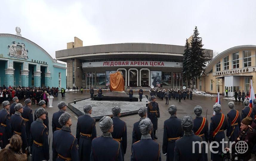 Открытие памятника Анатолию Тарасову. Фото Василий Кузьмичёнок