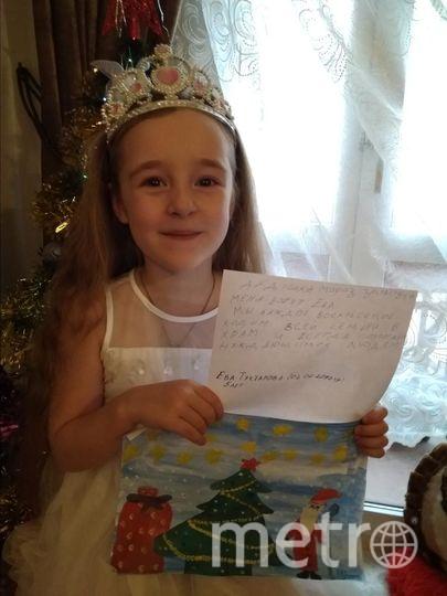 """Ева Туктарова, 5 лет. Фото мама Света, """"Metro"""""""