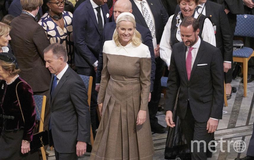 Nobel Peace Prize Award Ceremony 2018. Наследный принц Норвегии с женой. Фото Getty