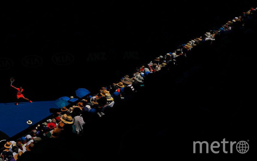 Григор Димитров на чемпионате Австралии по теннису. Январь. Фото Getty