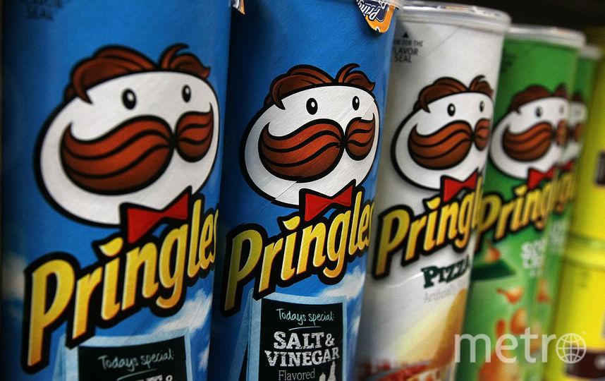 Чипсы Pringles. Фото Getty