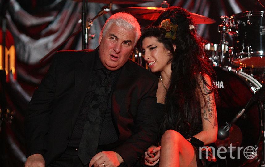 Эми Уайнхаус и ее отец Митч. Фото Getty