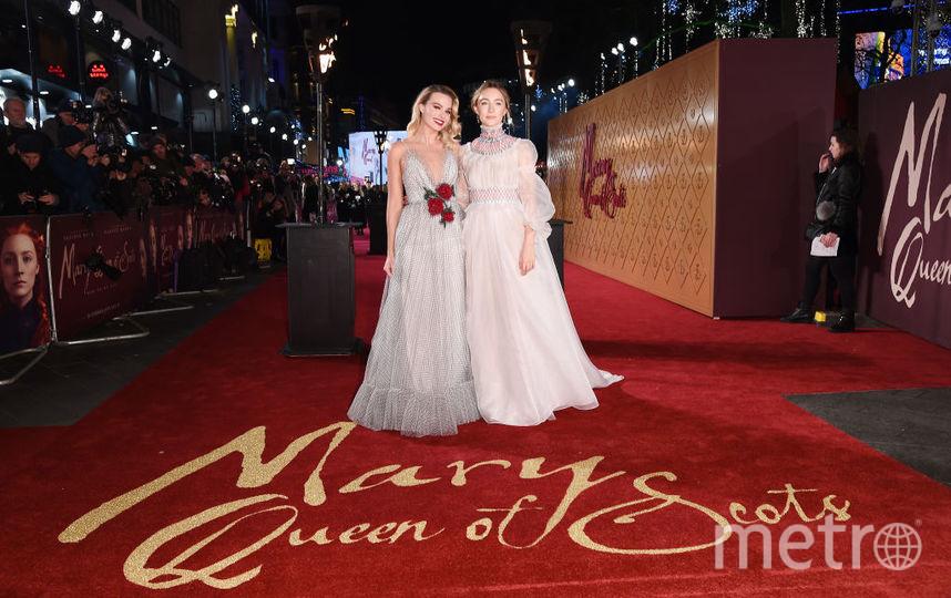 Марго Робби и Сирша Ронан. Фото Getty