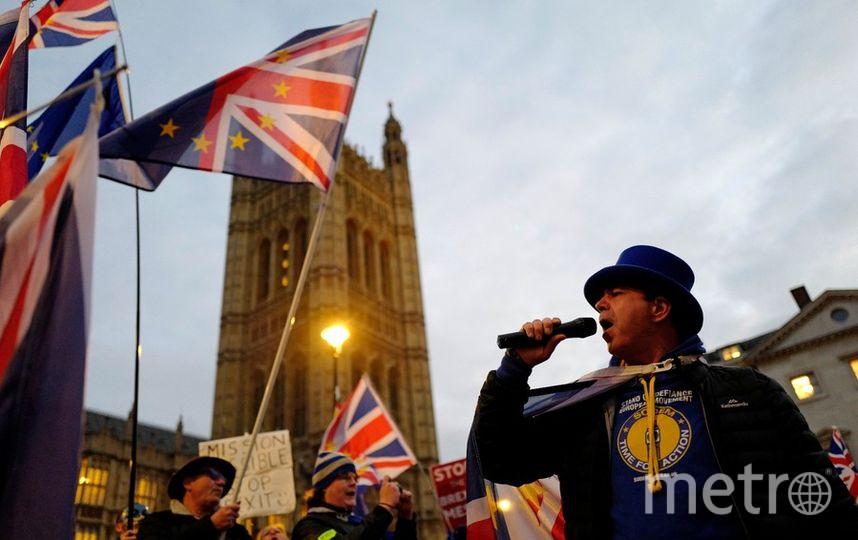 Голосование в британском парламенте должно было состояться сегодня. Фото AFP
