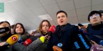 Надежда Савченко заявила о прекращении сухой голодовки
