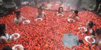 Горячее соревнование: в Китае прошёл необычный конкурс