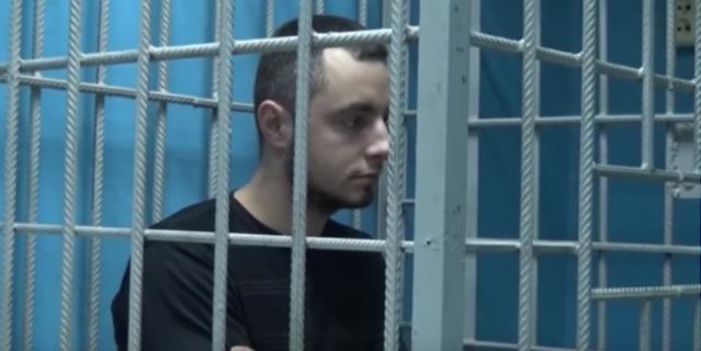 Дмитрий Грачёв на судебном заседании.