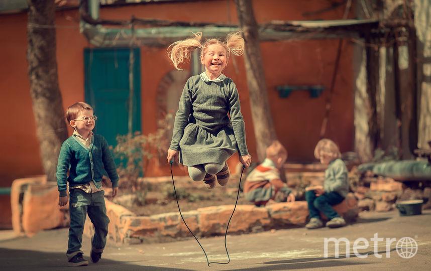 Главный приз в категории «Счастье» «Скакалка», автор Марианна Смолина (Россия). Фото Предоставлено организаторами