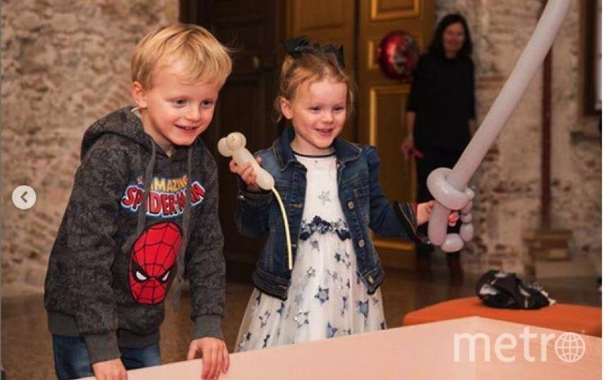 День рождения принца Жака и принцессы Габриэллы.