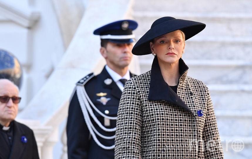 Княгиня Монако Шарлен. Фото Getty
