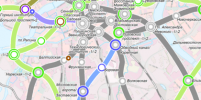 В Петербурге изменили схему развития метро: на новой карте есть кольцевая