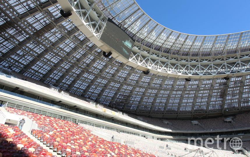 """Стадион """"Лужники"""". Фото Василий Кузьмичёнок"""
