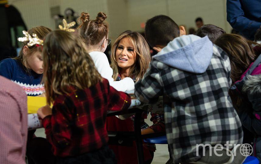 Мелания Трамп. Фото AFP