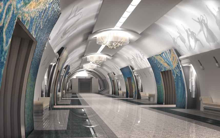 """Проект станции метро """"Театральная"""". Фото www.gov.spb.ru"""