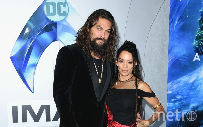 Джейсон Момоа с женой. Фото Getty