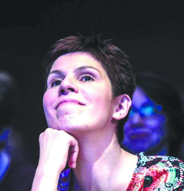 Анастасия Рогожникова программный директор «НАШЕго Радио». Фото  Василий Кузьмичёнок, пресс-служба «нашего радио»