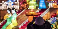 Во Франции установили гигантские фонари. Фото