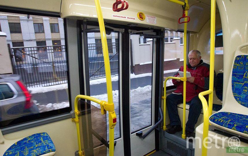 Стойки с антисептиком могут появиться в транспорте Москвы. Фото Василий Кузьмичёнок