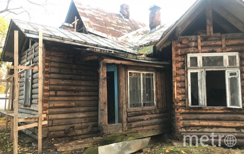 Деревянная дача конца XIX века в Парголово. Фото www.kgiop.ru