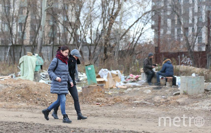 Проход вдоль Проектируемого проезда 1566. Фото Василий Кузьмичёнок