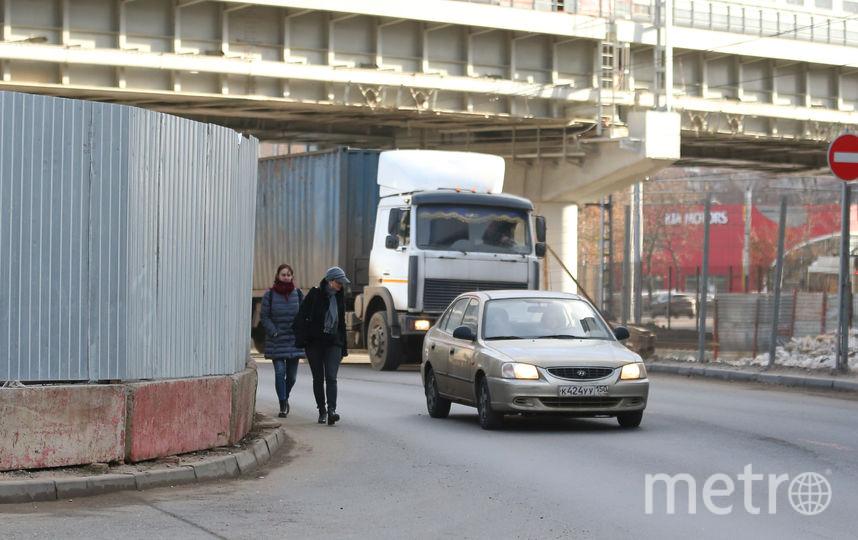 Проход вдоль Сигнального проезда. Фото Василий Кузьмичёнок