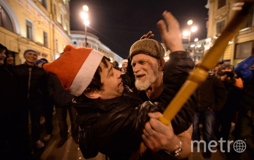 """На Дворцовой будет праздник всю ночь. Фото Святослав Акимов, """"Metro"""""""