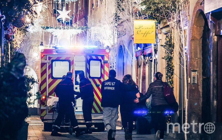 Стрельба на рождественской ярмарке в Страсбурге произошла вечером 11 декабря. Фото AFP