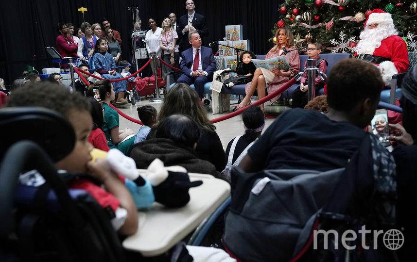 Мелания Трамп на благотворительном мероприятии. Фото Getty