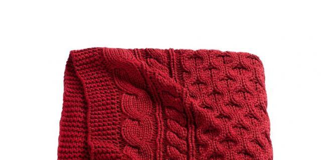 Вязаный плед, IKEA 1799 – 1800 руб.