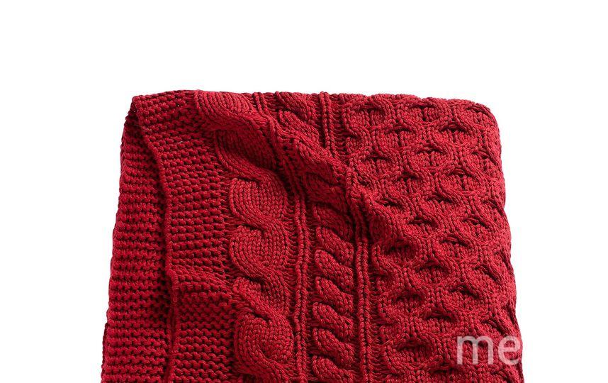 Вязаный плед, IKEA 1799 – 1800 руб. Фото Предоставлено пресс-службой