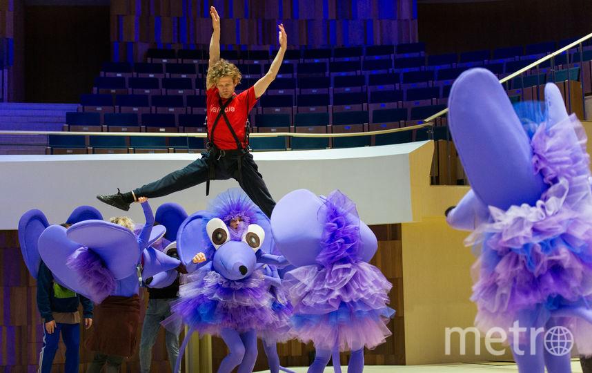 Репетиция спектакля «Щелкунчик». Фото предоставлено агентством CBAgency